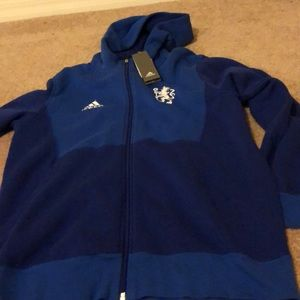 Adidas large Chelsea hoody. NWT